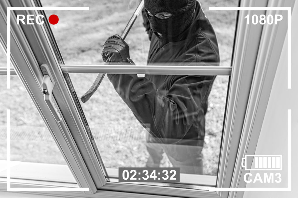 security camera recording